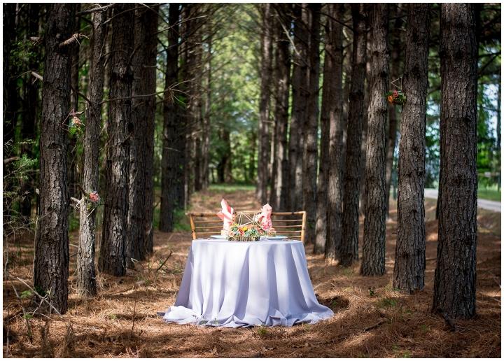 boho styled wedding shoot